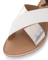 Tanya silver white leather %284%29