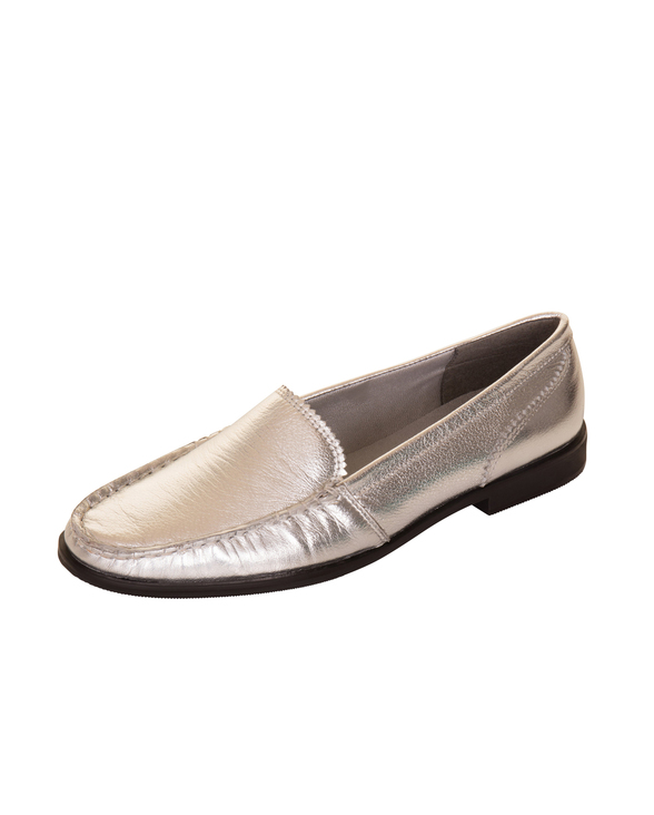 Lulu silver leather %281%29